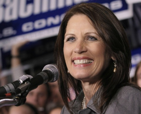 Michele Bachmann, a Tea Party favourite