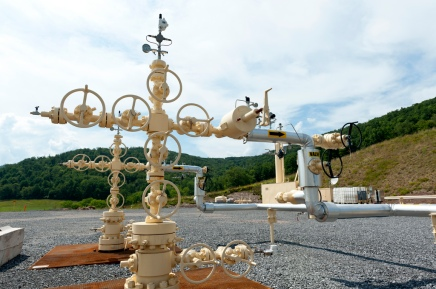 A Pennslyvanian fracking station, courtesy of Jeremy Bucking MLC