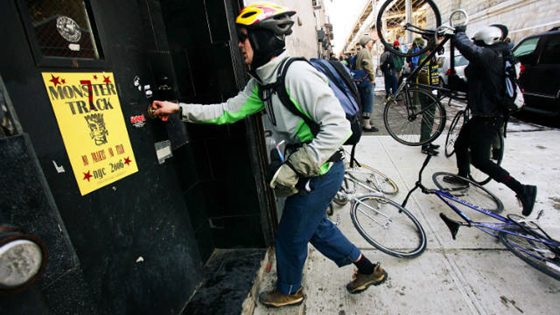 New York Bicycle Couriers